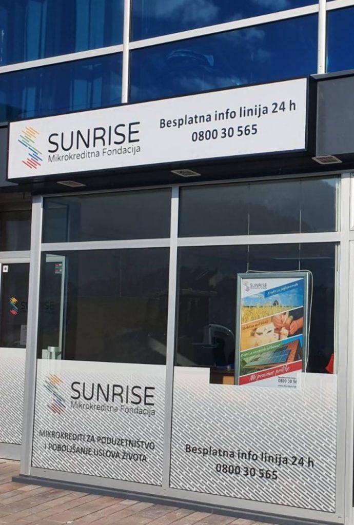 Nova poslovnica MKF SUNRISE u Jajcu, u ulici Kulina bana br.1
